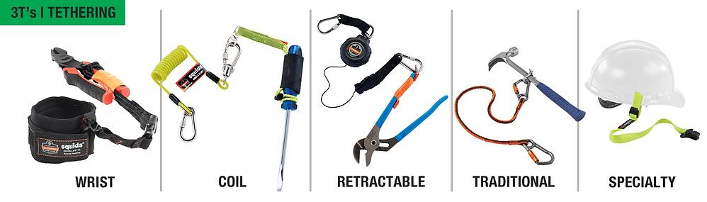 Fall Protection for tools - Tethering