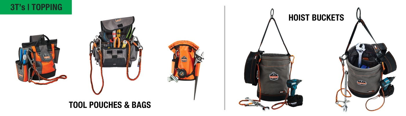 Fall Protection for Tools - Topping