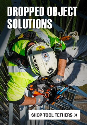 Dropped Object Solutions | Fall Protection For Tools - Tool Tether Image